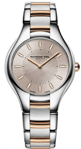 RAYMOND WEIL Noemia Rose Gold Ladies Watch 5132-SP5-81001